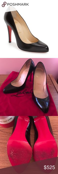 authentic used christian louboutin shoes