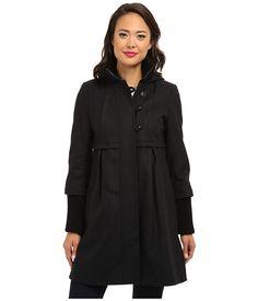 DKNY Hooded Babydoll Coat 14142X-Y4