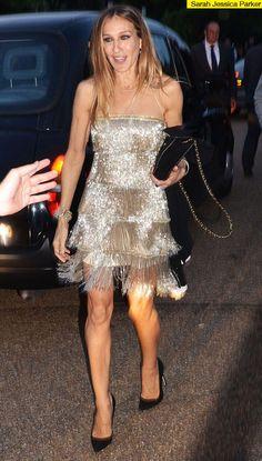 Sarah Jessica Parker's Gatsby Flapper Dress