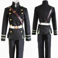 Gender: Unisex Components: Pants,Jackets,Other Material: Polyester Model Number: DB23781-2 Special Use: Costumes Characters: Other Size: S,M,L,XL Style: Owari no seraph Yuichiro Hyakuya cosplay costum