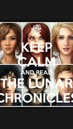 Keep Calm and read The Lunar Chronicles which u should TOTALLY DO