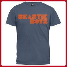 d4c9ab349ec Beastie Boys  Fader Logo  slate blue t-shirt (Small)  Apparel
