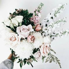 Like These Ideas? Visit Us For More Wedding Flowers & Bridal Bouquet Ideas Floral Wedding, Wedding Bouquets, Wedding Flowers, Flower Bouquets, Boquet, Gerbera Wedding, Purple Bouquets, Peonies Bouquet, Pink Bouquet