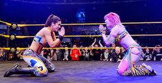 Bayley and Asuka.