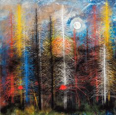 """Stanley Donwood – """"Poor End"""" giclee #prints available via http://www.moma.co.uk/buy/stanley-donwood-prints/"""