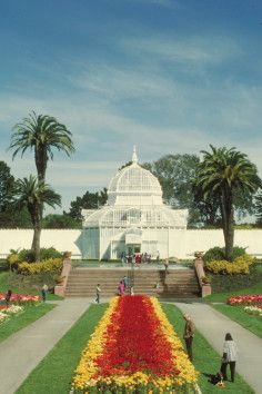 Conservatory of Flowers-San Francisco, CA A gem of victorian architecture