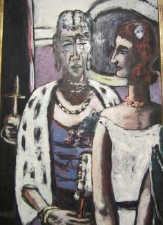 Max Beckmann Mother and Daughter by hanneorla, via Flickr