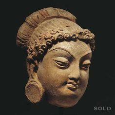 Gandhara sculpture.  British museum