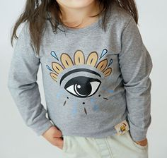 Third Eye Pullover in Grey – justsolittle
