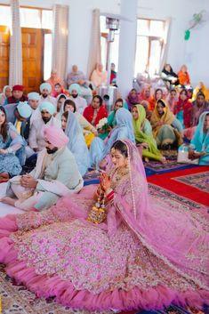 Gorgeous and Joyous Traditional Indian Wedding – Beginnings For You Photography 24 This impressively colorful three-day Indian wedding will tak your breath away. #bridalmusings #bmloves #indianwedding #wedding #ido #jubilant #colorful #punjab #Sangeet #Haldi #Mehendi #Jagoo #Chooda #weddingdestination