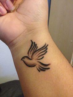 Love my dove tattoo! Dove Tattoos, Key Tattoos, Large Tattoos, Celtic Tattoos, Body Art Tattoos, Hand Tattoos, Tatoos, Tattoo Art, Dove Tattoo Design