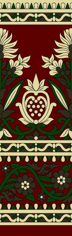 Textile Pattern Design, Pattern Art, Border Pattern, Rose Sketch, Boarder Designs, Paisley Art, Tie Dye Crafts, Baroque Design, Textile Prints