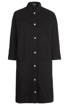 Longline Shirt Jacket