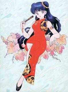 Art of Ranma ½ Manga Illustration, Character Illustration, Watercolor Illustration, Old Anime, Manga Anime, Ranma Y Shampoo, Art Vintage, Fanart, Anime Comics