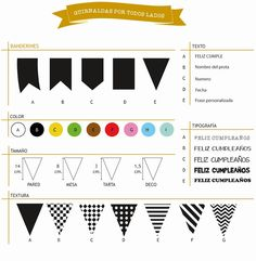Guirnaldas por todos lados... Make Bunting, Bunting Flags, Flag Banners, Paper Toys, Paper Gifts, Felt Crafts, Diy And Crafts, Project Life Scrapbook, Knitting Stiches