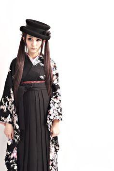 ダリのレンタル袴スタイルで卒業式 の画像 ダリヘアデザイン 高島の靭公園から徒然と