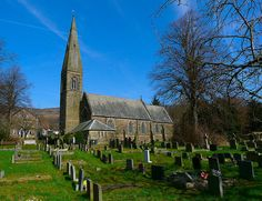 Bamford Parish Church Bamford, Peak District, Derbyshire, British Isles, Running Away, See Photo, Countryside, Most Beautiful, England