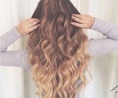 37 New ideas hair goals long ombre Hair Color Dark, Cool Hair Color, Hair Colour, Love Hair, Gorgeous Hair, Pretty Hair, Beautiful, Blond, Long Brunette