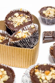 Chocolate Hazelnute Cups