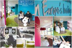 EFG - Birchwood Showroom designed by Ingo Interiors - Reception & Touch Down Area