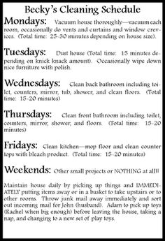 how to keep your house clean in 15 minutes a day!! cleaning