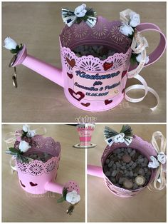 Diy Gifts, Diy And Crafts, Valentines Day, Wedding Decorations, About Me Blog, Wraps, Gift Wrapping, Birthday, Tableware