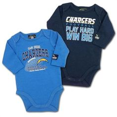 231c4eb71 NFL San Diego Chargers Boys Long Sleeve Bodysuit 03 Months Navy    Check  out the image by visiting the link.