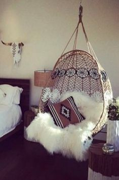 Anthropologie Knotted Melati Hanging Chair #anthroregistry | Your  Anthropologie Registry | Pinterest | Hanging Chair, Anthropologie And Room