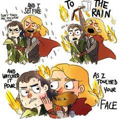 RIP Thor's hair