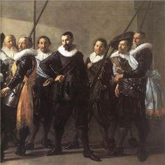 Frans Hals (Antwerp 1582 – Haarlem 1666)  The company of Captain Reinier Reael and Lieutenant Cornelis Michielsz. Blaeuw, known as the 'Meagre Company' (detail)