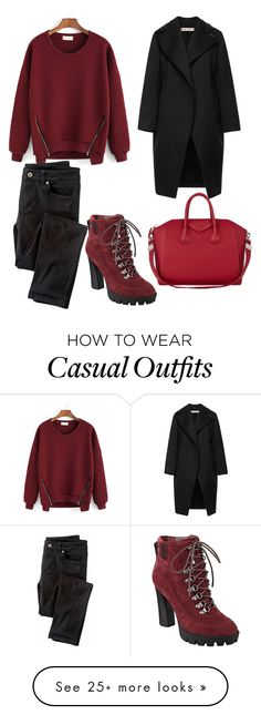 """""""casual"""" by mihaelahemmo on Polyvore featuring Marni, Nine West, Givenchy and Wrap"""