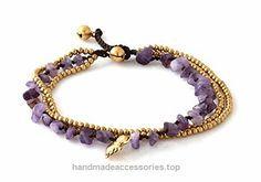 MGD, Purple Amethyst Color Bead and Brass Bell Anklet. 3-strand Elephant Anklets Beautiful Handmade Brass Anklet. Small Anklets. Ankle Bracelet. Fashion Jewelry for Women, Teens Girls, JB-0274A  Check It Out Now     $12.99    Handmade Product, slightly variations in Colours, Sizes and/or Pattern are expected. Please search for more colours a ..  http://www.handmadeaccessories.top/2017/03/18/mgd-purple-amethyst-color-bead-and-brass-bell-anklet-3-strand-elephant-anklets-beautiful-..