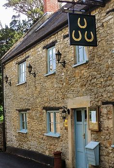 The Three Horseshoes is a 400 year old country pub nestled in the beautiful Somerset village of Batcombe.