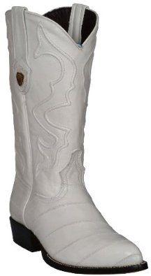 Men's COWBOY BOOTS White Shoes 7.5 Imports. $180.00