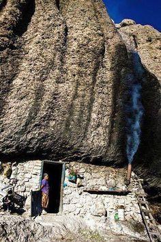 Cave house . Chihuahua, México