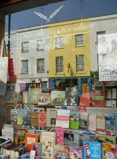 Bookshops a plenty in Notting Hill, London English People, Book Authors, Books, Notting Hill, West London, My Dream, British, England, City