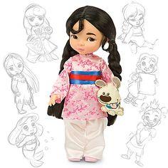 Mulan (Disney Animator's Collection). Solo faltan Mulan, Tiana y Pocahontas para completar la colección de Martina :)