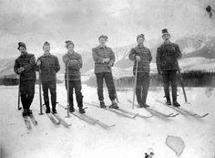 Revelstoke Ski Club in 1893 Ski Club, History Facts, British Columbia, Skiing, Museum, Fun, Pictures, Ski, Museums