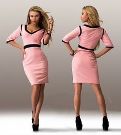 Cheap dress up womens, Buy Quality dresses thick women directly from China women semi formal dresses Suppliers: New office ladaies style work wear 2015 hot sale loose patchwork  sleeves mid sexy  dress Russian style plus sizeUSD 9.6
