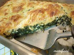 Spanakopita, Quiche, Cooking, Breakfast, Ethnic Recipes, Sweet, Food, Kitchens, Kitchen