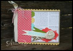 Mother's Day mini book made with the Epic Day kit.   http://www.stampinup.com/ECWeb/ItemList.aspx?categoryid=1448