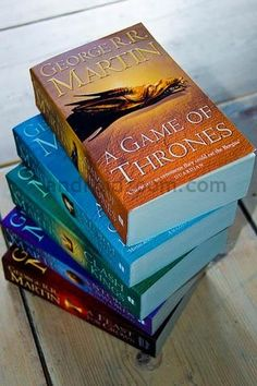 Game of Thrones-Looking forward to reading this series!