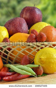 Vegetables And Fruit Stock Photos, Images, & Pictures | Shutterstock