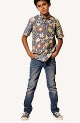 Vans Woven Shirt, Joe's Jeans & Converse Sneaker (Big Boys)