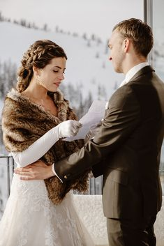A winter wedding ceremony in a ski resort in the Austrian Alps. Winter Wedding Ceremonies, Wedding Ceremony, Snow Wedding, Dream Wedding, Snowboard Wedding, Zell Am See, Winter Wedding Inspiration, First Dance, Alps