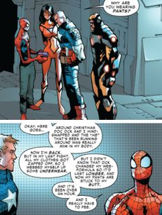 That explanation may be a little long, Spidey.