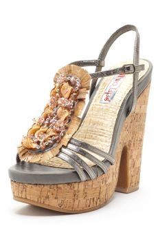 Who's ready to buy cute sandals? Two Lips Blondie Wedge Sandal