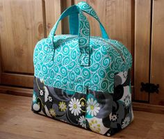 Sewing: Weekender Bag Overnight Travel Bag SALE