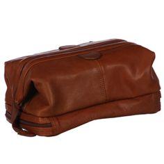 Amerileather Men's Leather Toiletry Bag (54 EUR)
