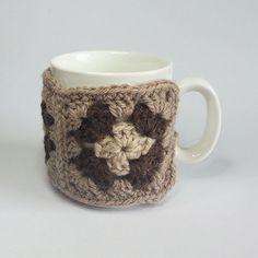 Alpaca Granny Square Mug Hug £8.00
